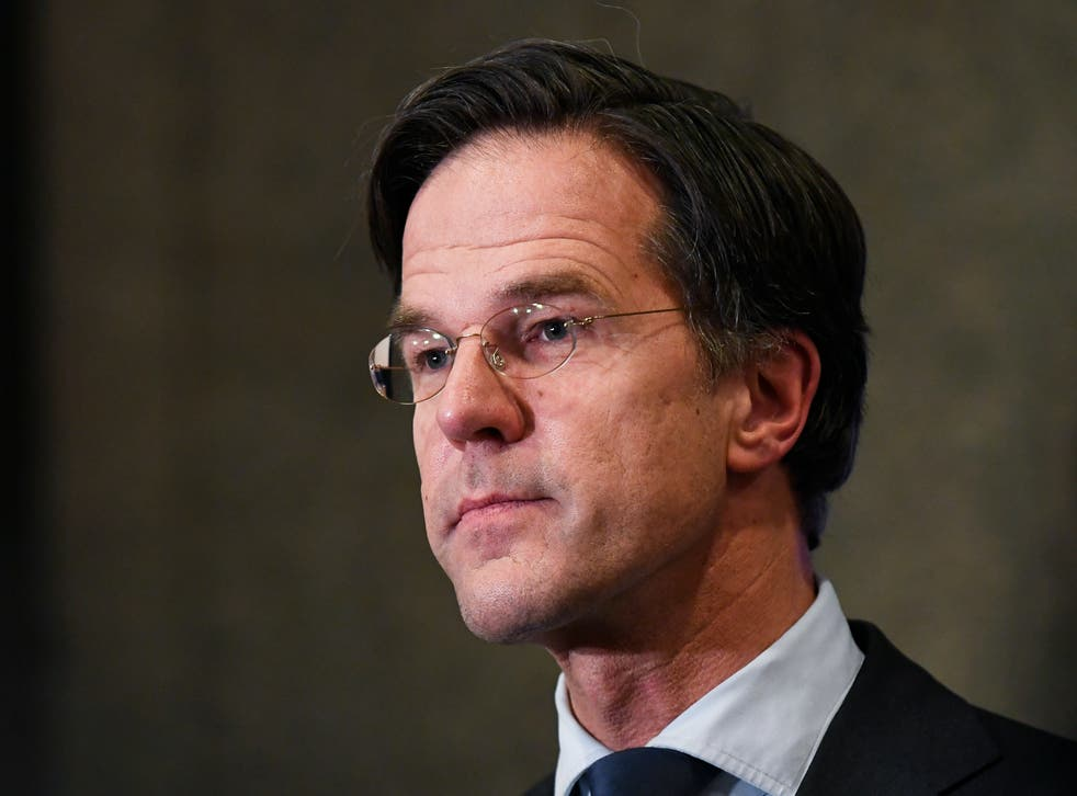 <p>Mark Rutte said a corona pass was needed to prevent a new wave of infections</p>