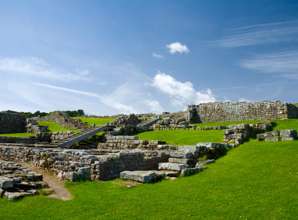 English Heritage is opening some of its outdoor spaces on 29 March, such as Housesteads  Roman fort