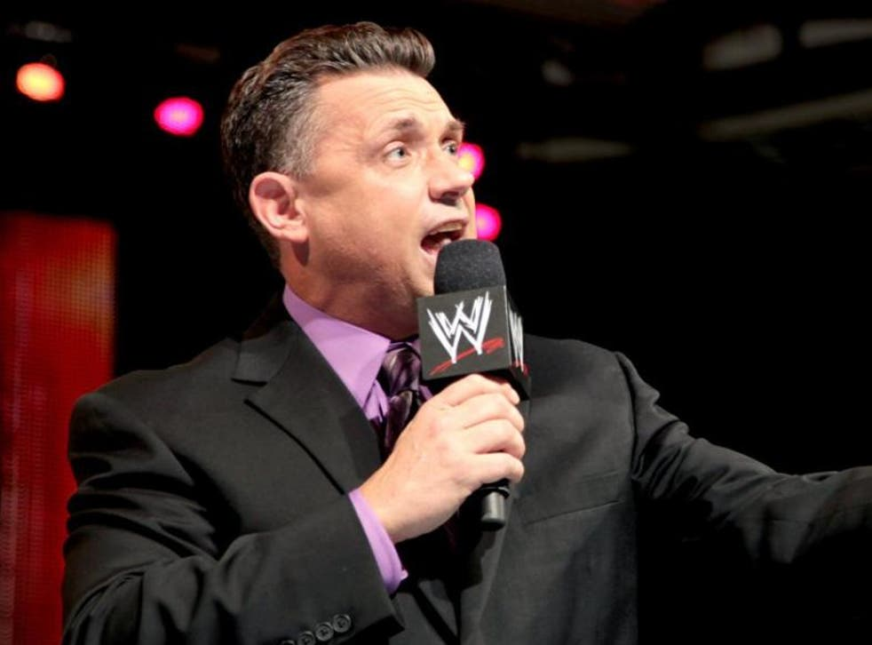 <p>Michael Cole has been with WWE for over 25 years</p>