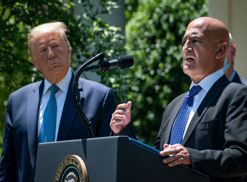 <p>Moncef Slaoui was the vaccine specialist who helped create Operation Warp Speed under the Trump administration</p>