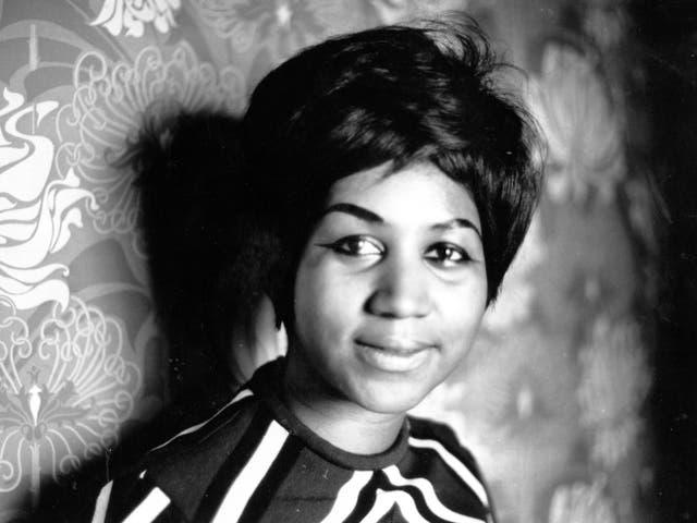 Aretha Franklin in 1968
