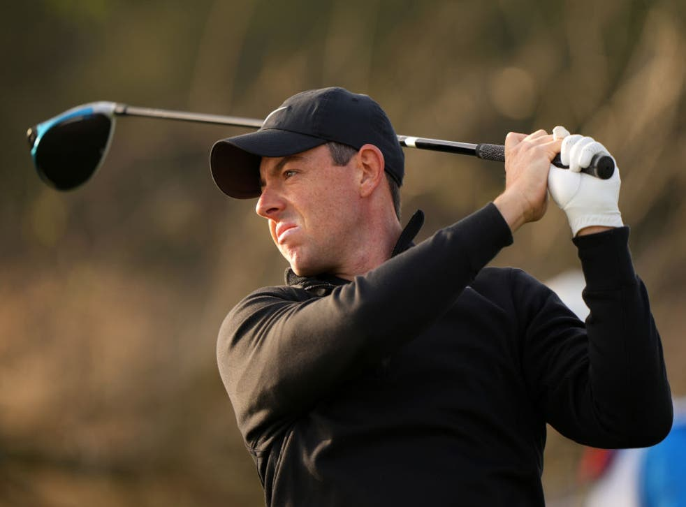 <p>Rory McIlroy suffered defeat to Ian Poulter</p>