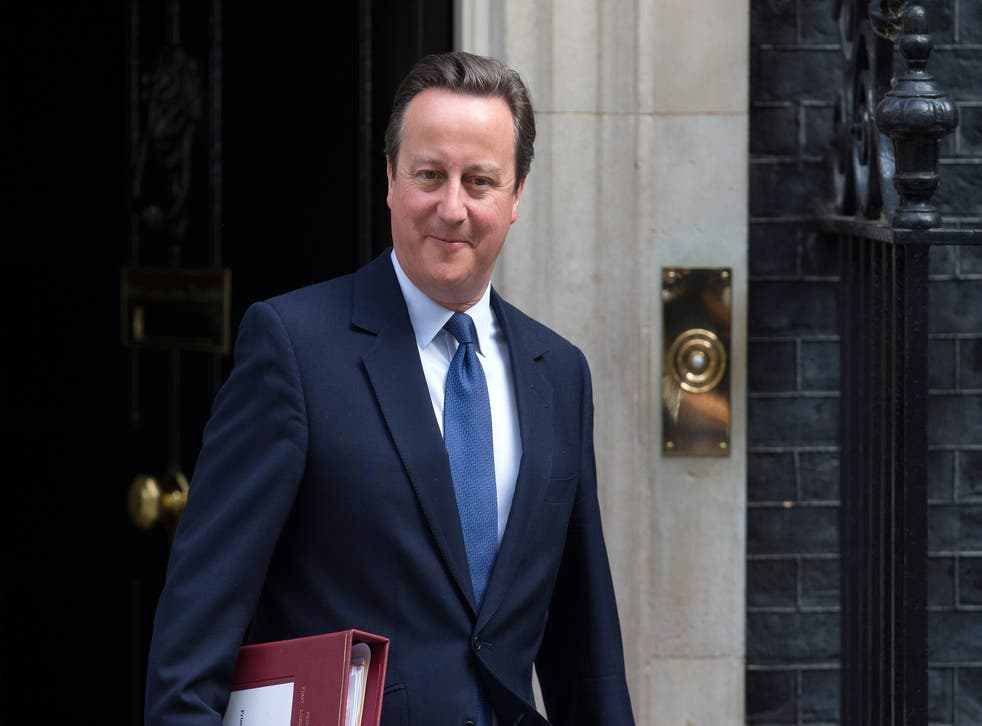 David Cameron's government introduced the statutory register of lobbyists