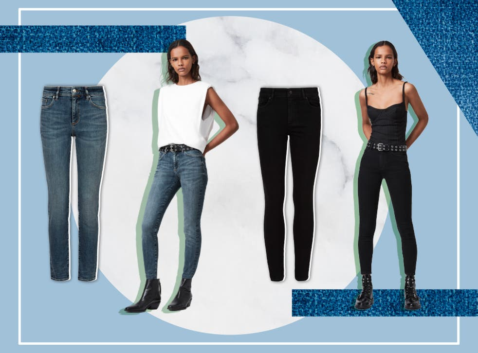 <p>AllSaints' new denim claims to fit waist sizes from 24 to 32</p>