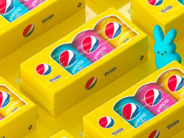 Pepsi teams up with Peeps to launch new soda