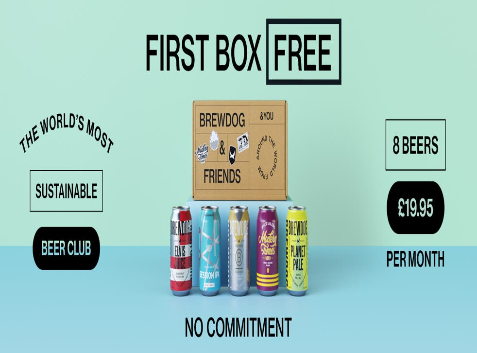 <p>A promotional image from the new carbon negative beer subscription box</p>
