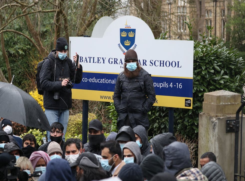 <p>Parents said they protested 'to show the country Islamophobia won't be tolerated'</p>