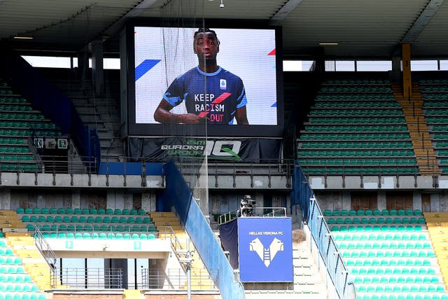 Italy Soccer Anti-Racism