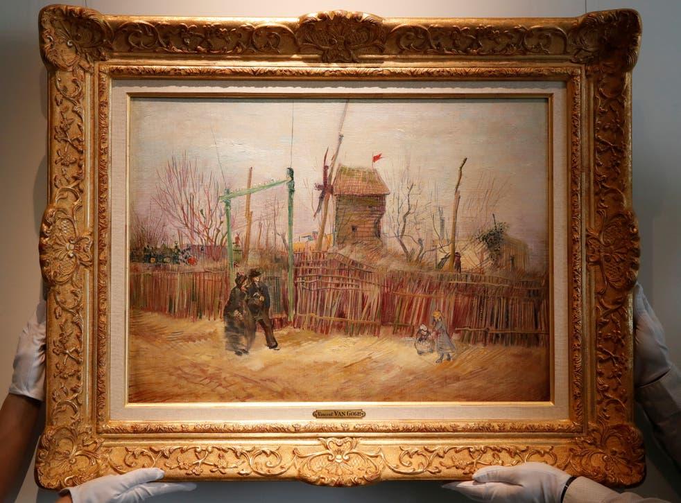 Scene de rue a Montmartre by Vincent Van Gogh