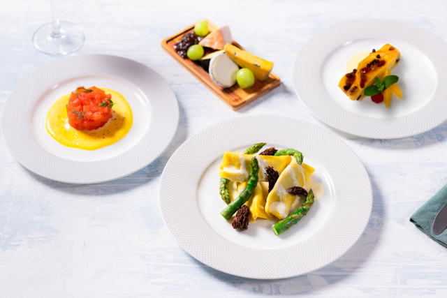 Dine with me? The pasta option from British Airways