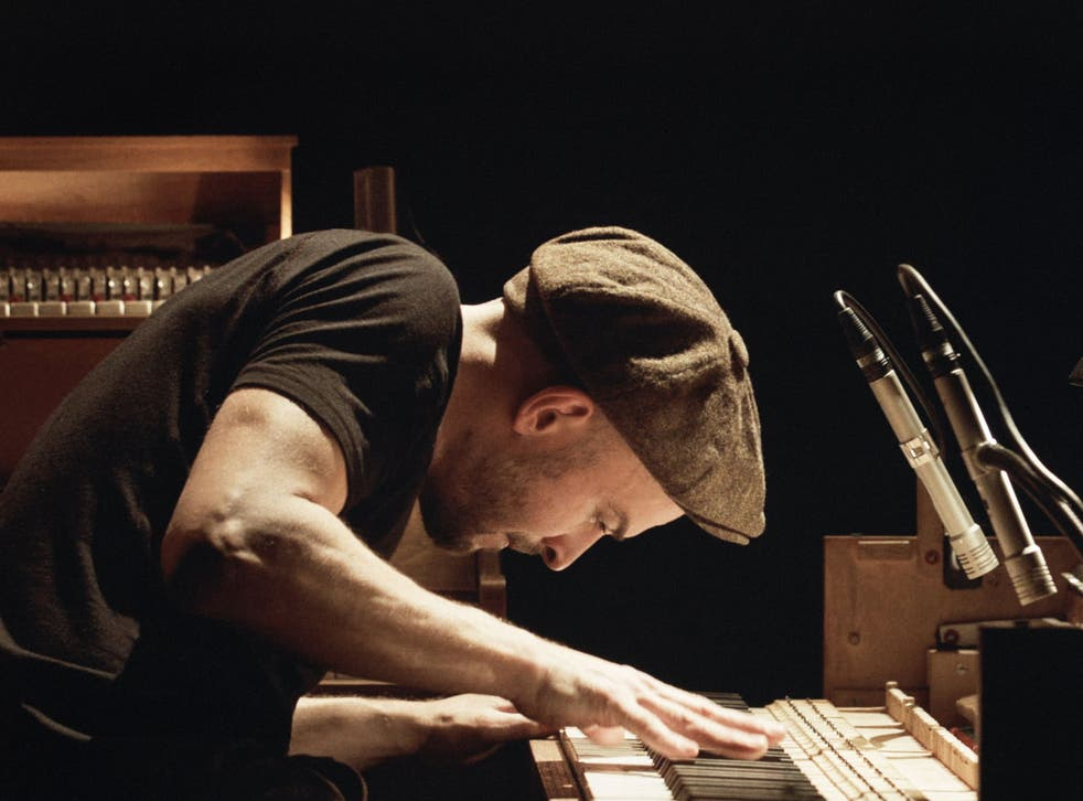 <p>Nils Frahm performing during his 'Tripping' tour</p>