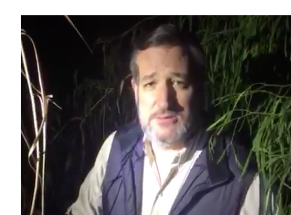 Ted Cruz accused Joe Biden of sanctioning lawless chaos on US-Mexico border