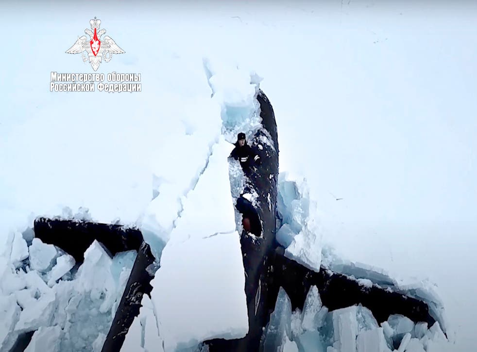 Russia Arctic Drills