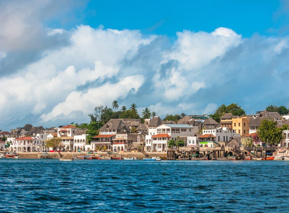 <p>Lamu old town waterfront</p>