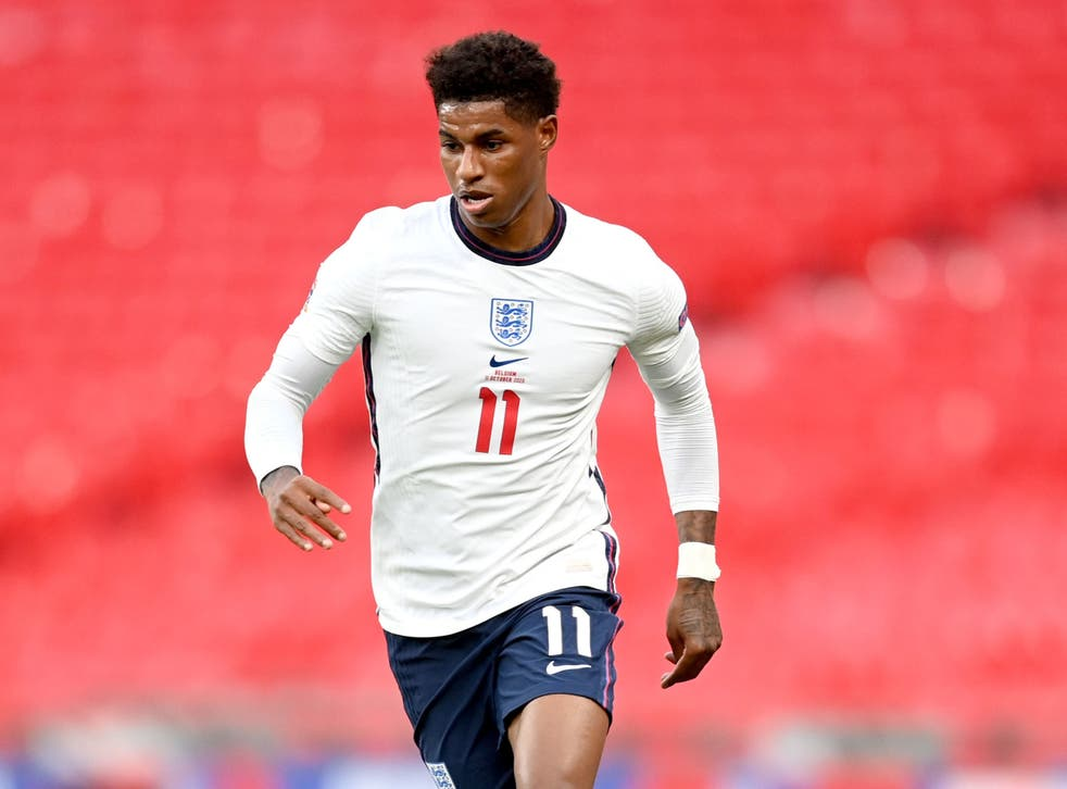 Marcus Rashford will not feature during the international break