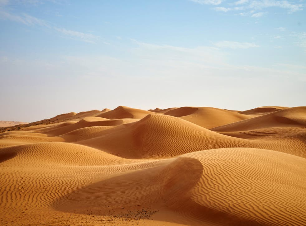 <p>Sand is the world's second most-used raw material after water</p>