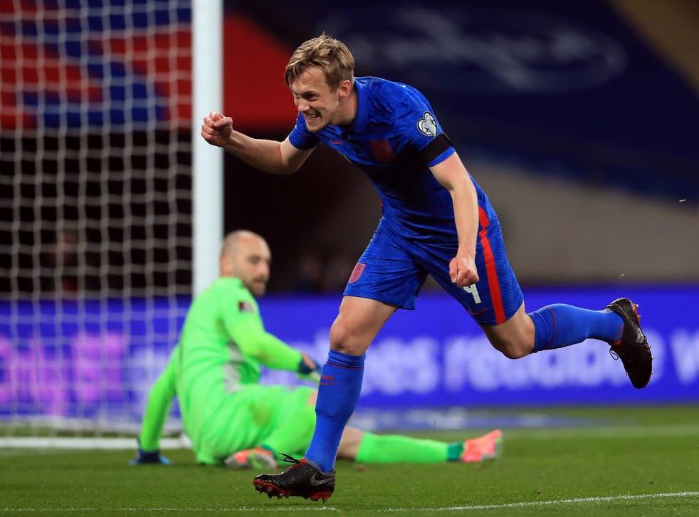 James Ward-Prowse impressed against San Marino