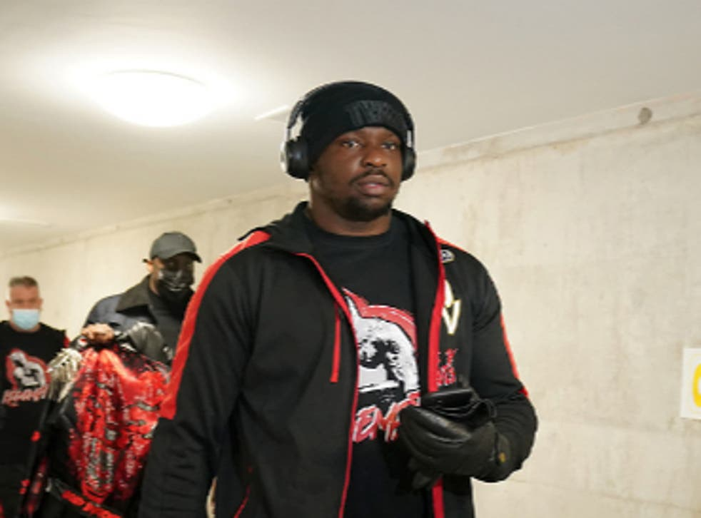 <p>Whyte won with a KO on Povetkin in the fourth round</p>