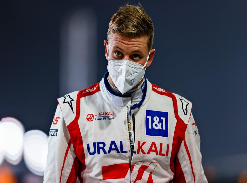 Haas driver Mick Schumacher won the Formula 2 title last season