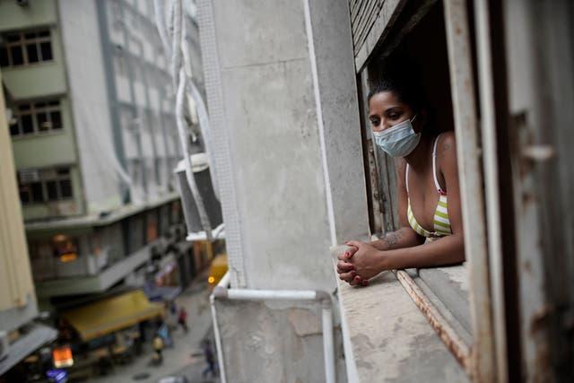 Virus Outbreak Brazil Women
