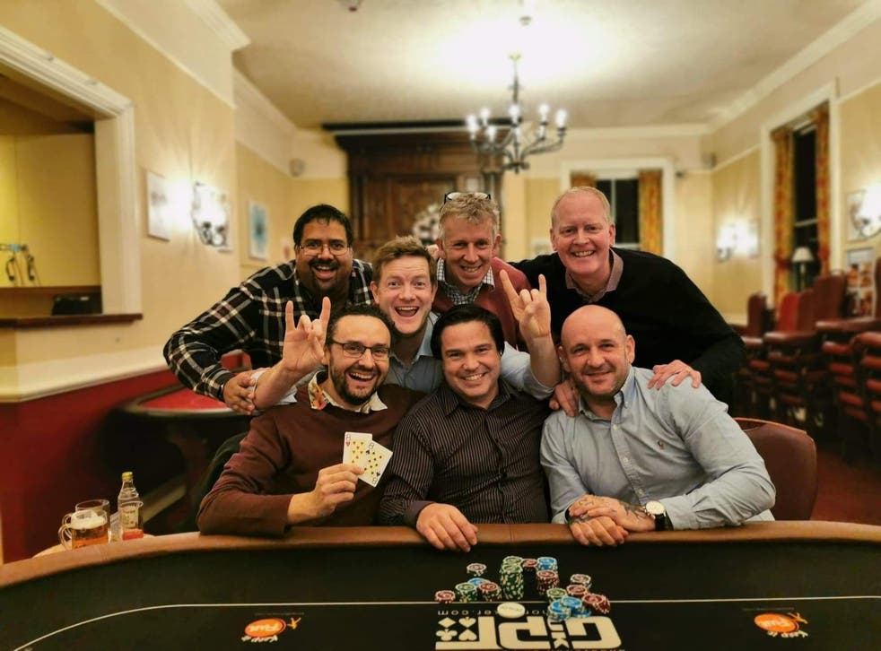 The seven poker-playing friends who call themselves The House of Snacks