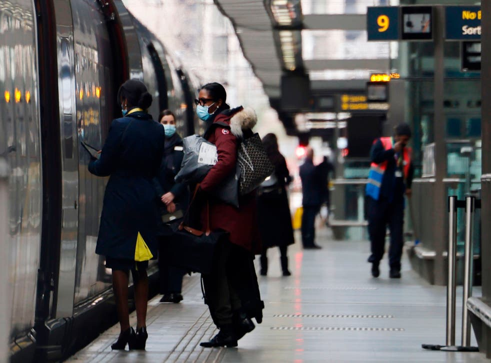 <p>All aboard: international trains all pass through amber countries</p>
