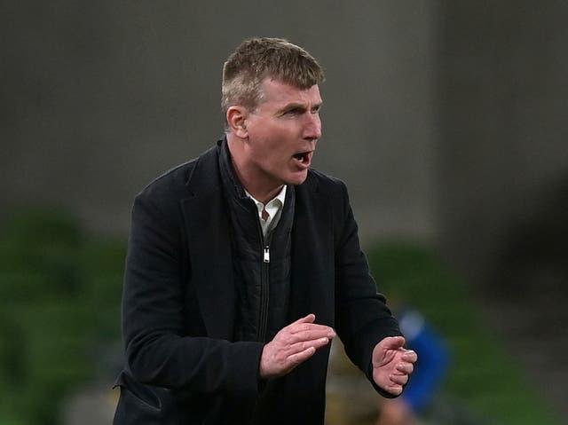 Republic of Ireland coach Stephen Kenny