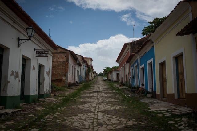 <p>Han vivido aquí durante cientos de años, descendientes de africanos esclavizados, pescando y cultivando un paraíso verde donde la tierra se encuentra con el mar a lo largo de la costa norte de Brasil.</p>