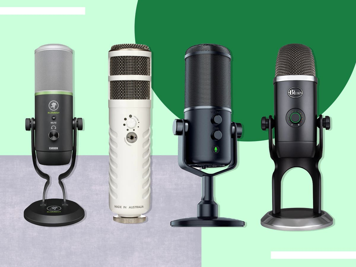 10 best USB microphones for podcasting, streaming or zoom