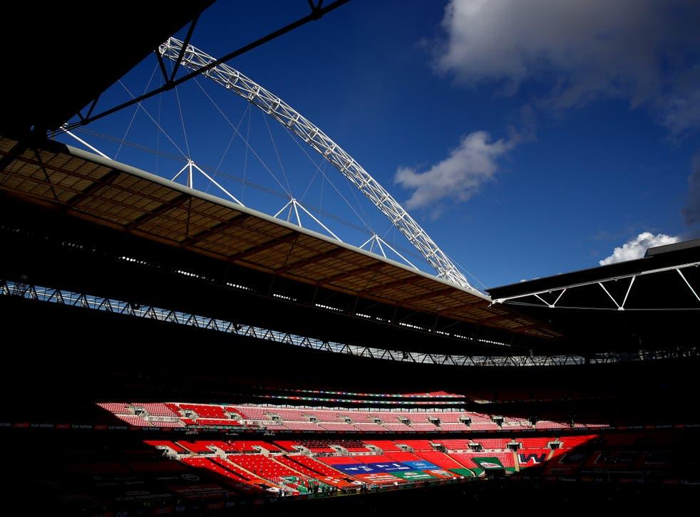 London's Wembley Stadium