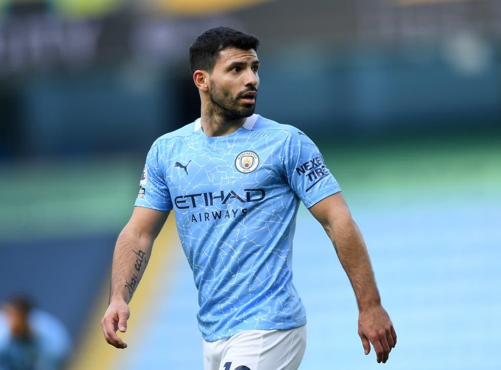 Manchester City's record goalscorer Sergio Aguero