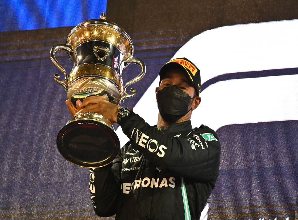 Hamilton edged Verstappen to an 'impossible' win in Bahrain