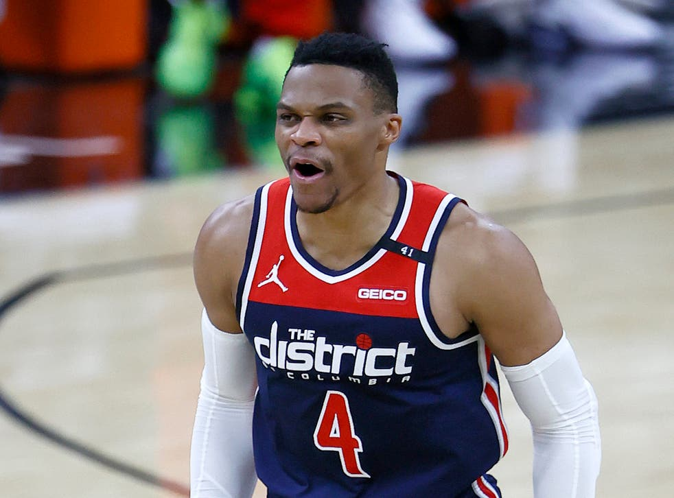 <p>Russell Westbrook led the Washington Wizards past the Indiana Pacers with a stunning triple-double</p>