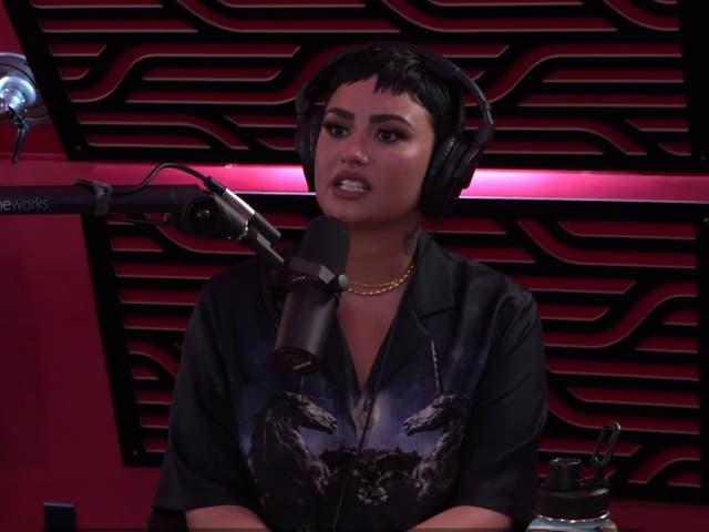 <p>Demi Lovato.</p>
