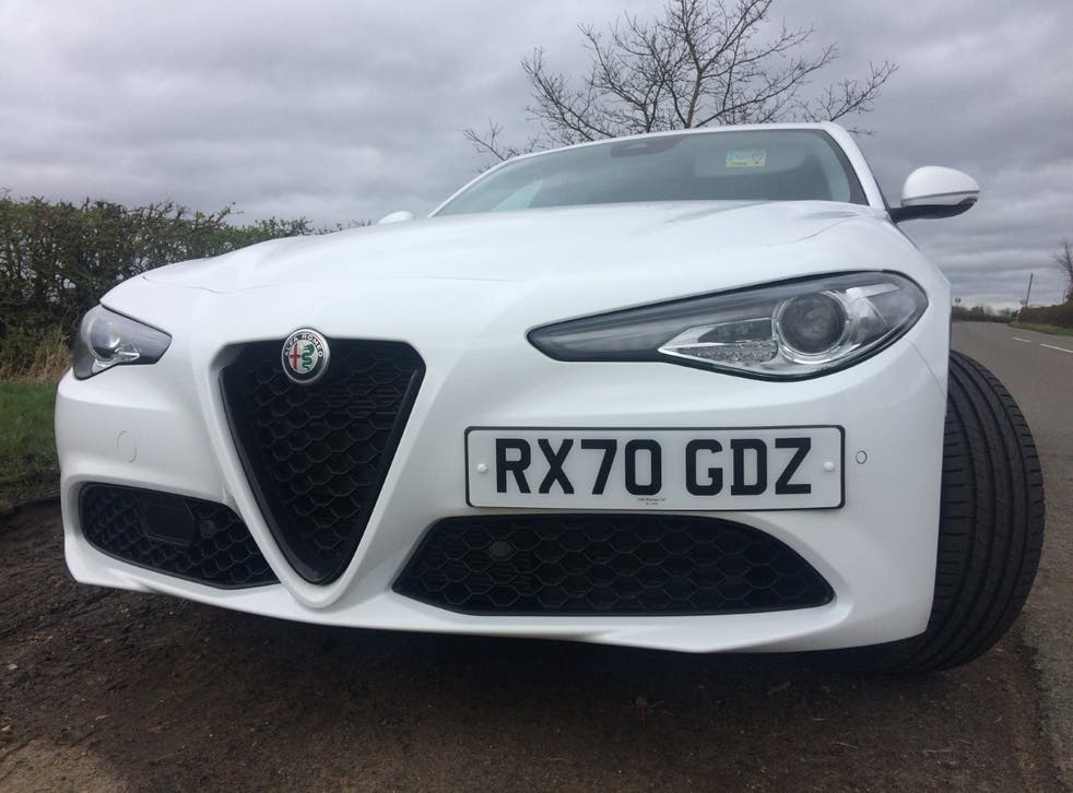 <p>Sing my heart: if you've got the money, the Giulia can make your life complete</p>