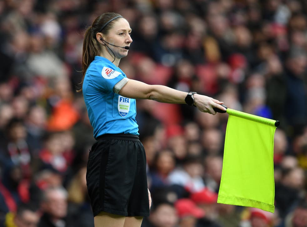 Premier League assistant referee Sian Massey-Ellis