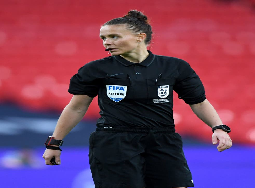 Rebecca Welch has refereed seven National League games this season