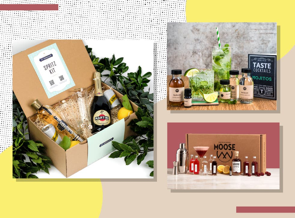 <p>There are now a dazzling array of kits on offer to help aspiring mixologists with their happy hour kitchen experiments</p>