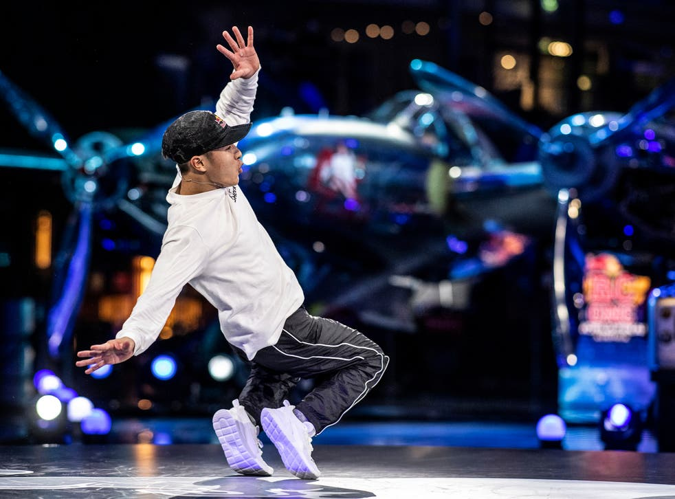 Shigekix of Japan competes during the Red Bull BC One World Final