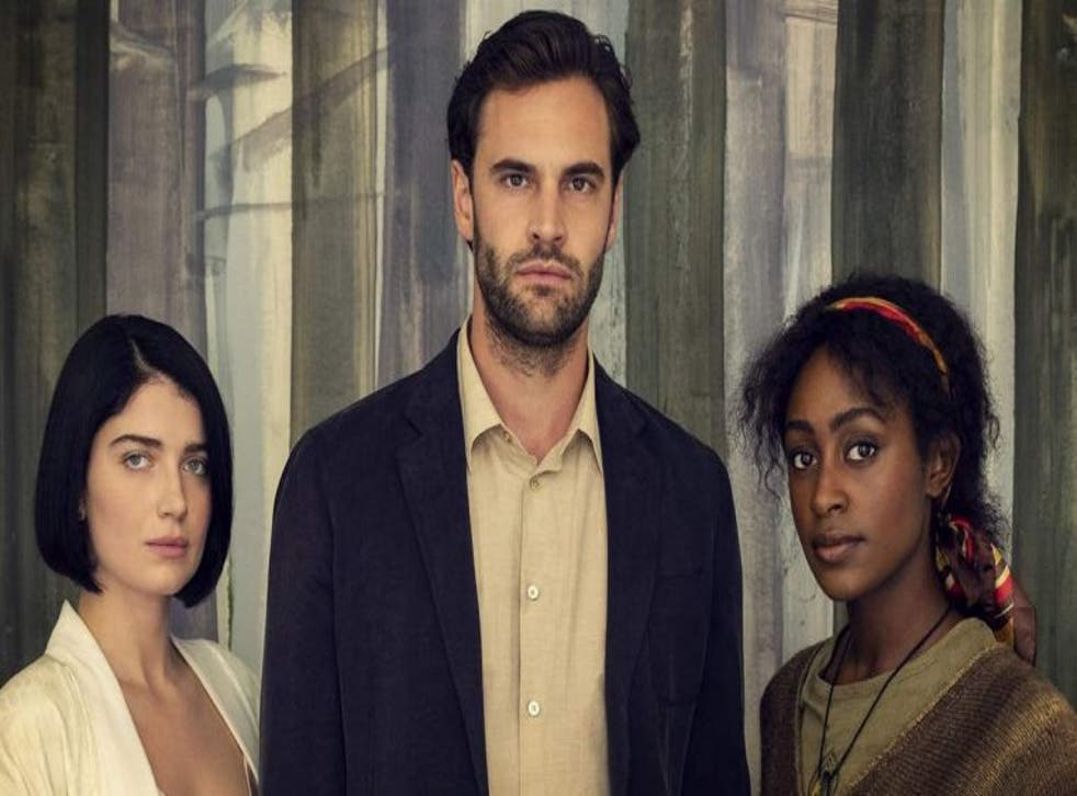 <p>The cast of the Netflix adaption of 'Behind Her Eyes'</p>