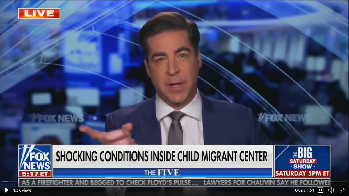 Fox host says most parents don't want migrant children at their kids' schools