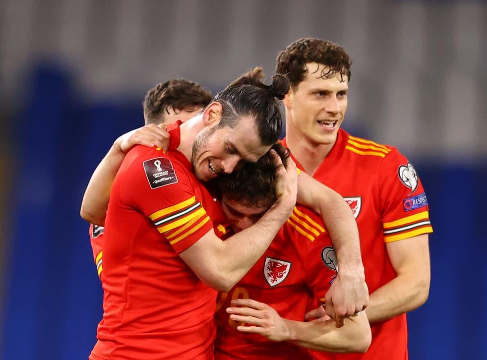 Gareth Bale provided the assist for Dan James' winner