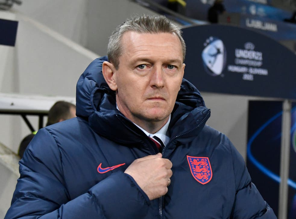 <p>Aidy Boothroyd has left his role as England U21s manager</p>