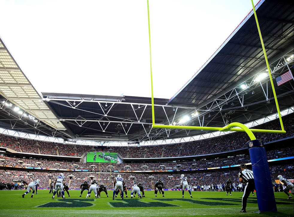 A general view during the NFL International Series match between Indianapolis Colts and Jacksonville Jaguars at Wembley Stadium in 2016