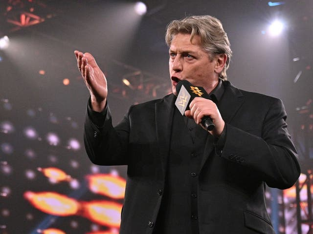 <p>Former WWE wrestler and current NXT General Manager, William Regal</p>