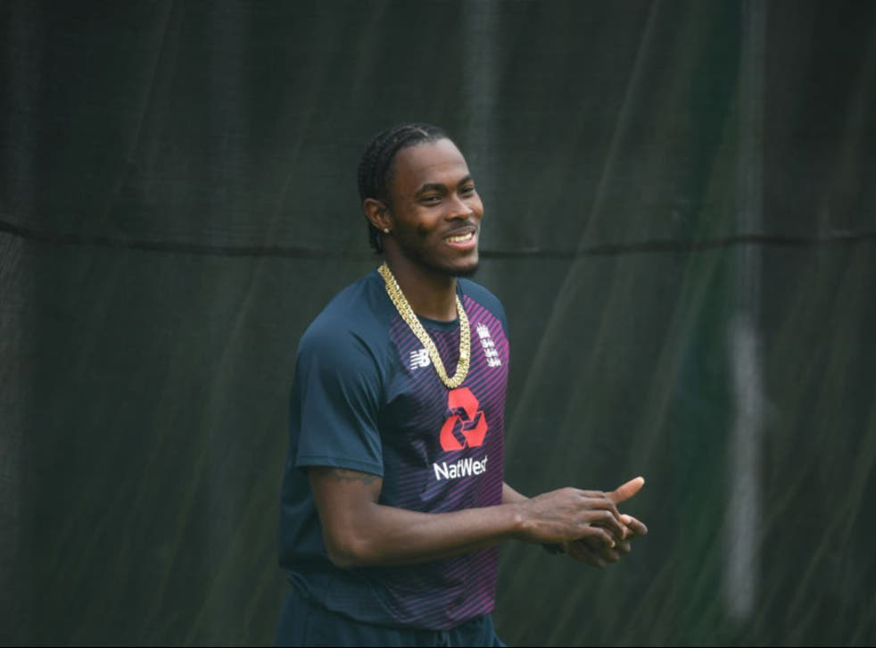 <p>Jofra Archer's IPL hopes remain in the balance</p>