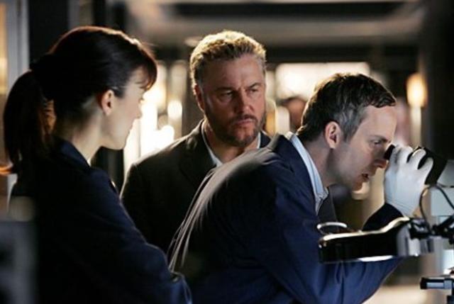 <p>American TV show CSI: Crime Scene Investigation</p>