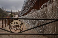 Dos niñas, de 3 y 5 años, caen desde el muro fronterizo de 14 pies entre Estados Unidos y México