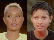 Jada Pinkett Smith y su hija Willow revelan que se sienten atraídas por las mujeres