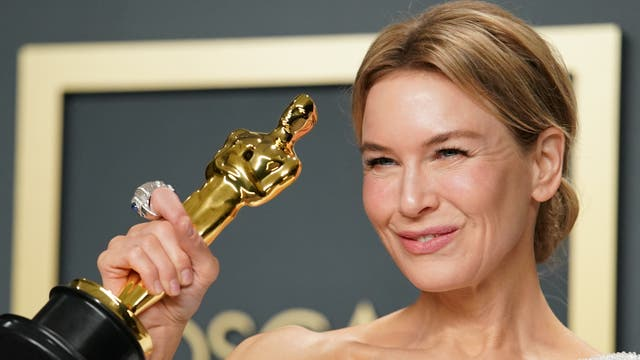 Renée Zellweger won her second Oscar for portraying Judy Garland in 2019's Judy.  The actor had previously won a Best Supporting Actress award for her role in Cold Mountain, back in 2004.